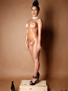controversial nude image 1 of 9 miss bumbum finalist claudia alende