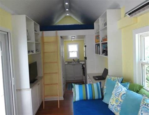 tiny homes interior designs tiny rv house cottage living on st george island florida bliss living