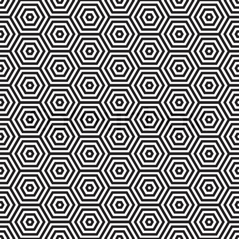 Sixties Home Decor by Seventies Inspired Hexagon Seamless Pattern Background In