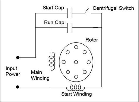 dayton capacitor start motor wiring diagram baldor motor capacitor wiring diagram periodic diagrams science