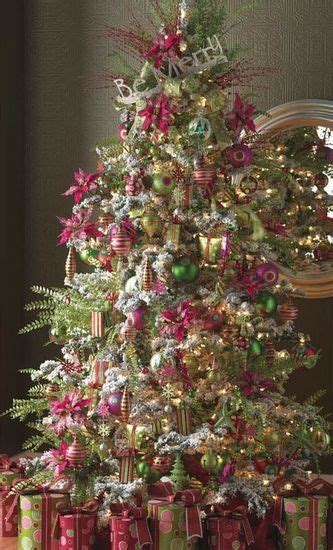 decorating a pink christmas tree 9 color combinations beyond and green balsam hill artificial trees