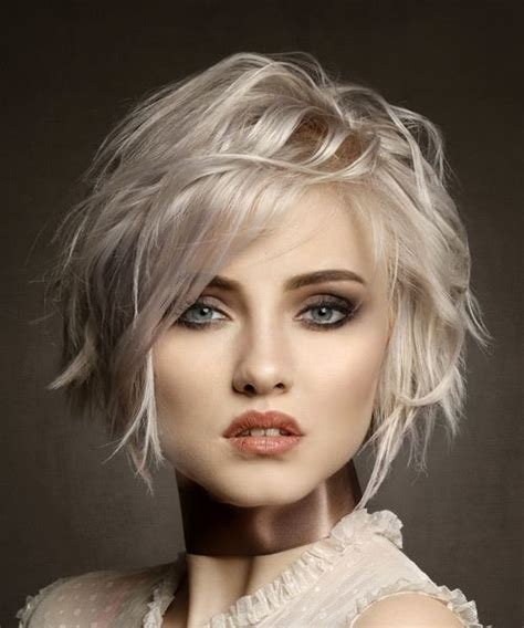front view of side swept hairstyles bob hairstyles and haircuts in 2018