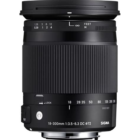 Sigma For Canon sigma 18 300mm f3 5 6 3 dc macro os hsm lens contemporary