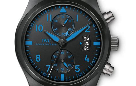 Iwc Scaffhause Blue T1310 3 iwc launches three boutique edition pilot watches monochrome watches