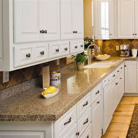 Cast Polymer Countertops by Four Ways To Get The Look Of Granite Countertops Better