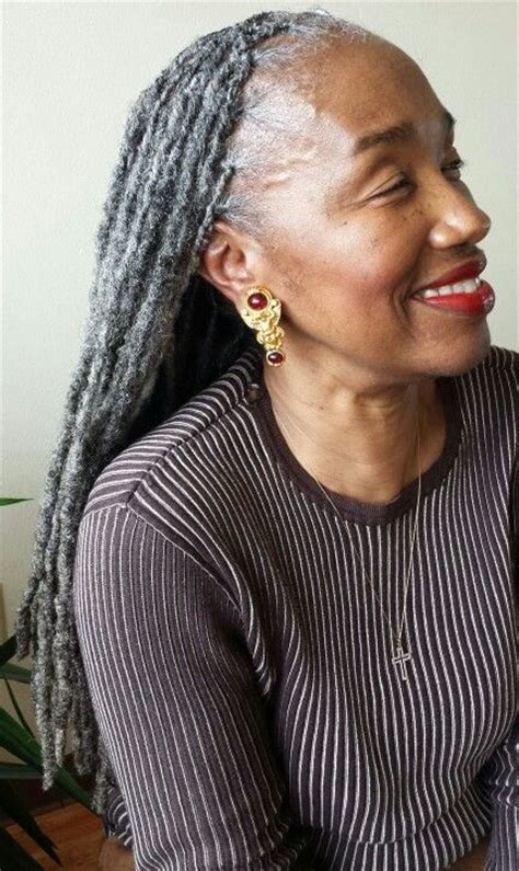 dreadlocks with gray hair gray locks and photos on pinterest