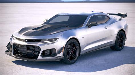 chevrolet camaro zl1 1le 2018 3d model cgstudio