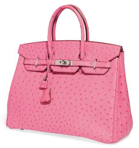 a fuchsia pink ostrich birkin bag herm 200 s 2005