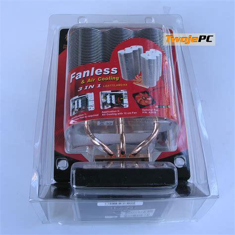 Processor Sonic Sigma 6 wydajne ch蛯odzenie test 6 cooler 243 w cpu thermaltake sonic tower rev 2