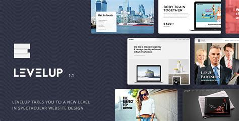 Themeforest Level Up | themeforest levelup theme download wordpress