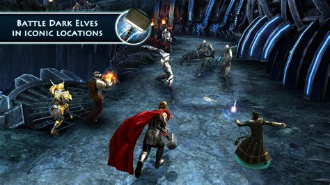 thor apk thor tdw the official apk v1 2 2a mod unlimited gold run gem for android