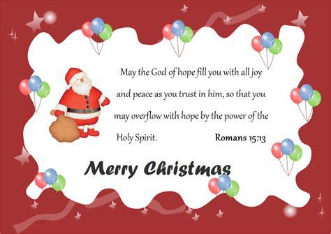 christmas card god words  christmas card god words templates