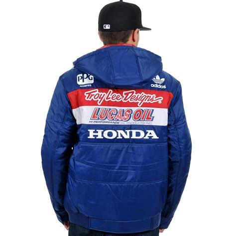 troy lee designs honda jacket troy lee designs new mx tld honda motocross navy winter