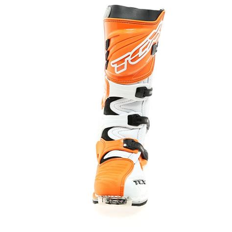 tcx pro 2 1 motocross boots tcx pro 2 1 boots white orange free uk delivery
