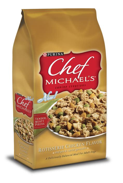 chef michaels dog food  purina debuts dinner parties
