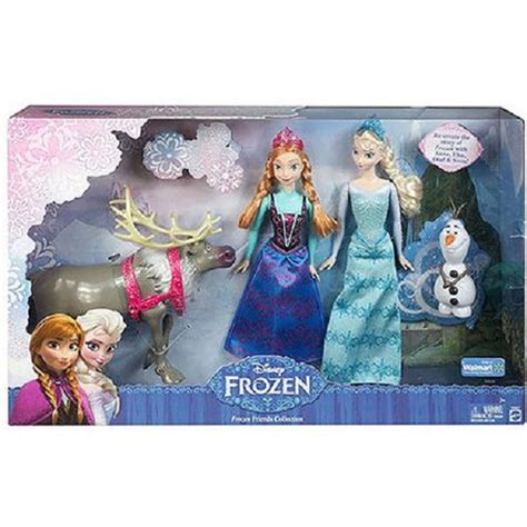 disney set elsa frozen tokoonecom disney nib frozen friends collection gift set elsa anna