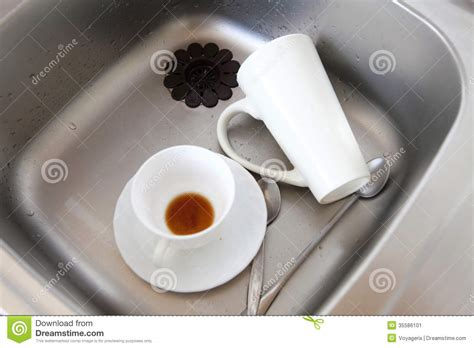 washing dishes in bathroom sink washing in the sink befon for