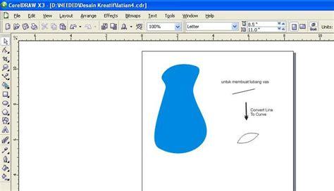 tutorial membuat kaligrafi dengan corel draw tutorial membuat vas bunga dengan corel draw tik tik tik