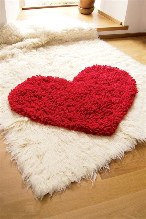 heart pattern rugs different rug projects that will make the home even more