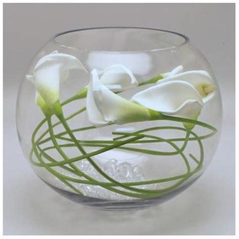 glass bowls for centerpieces fish bowl ideas for centerpieces images