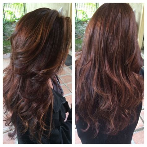 crown highlights dark hair how to formula and steps for rich dimensional chocolate