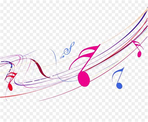color notes musical note melody color notes png 999 816