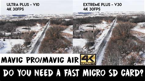 mavic pro  mavic air  micro sd card