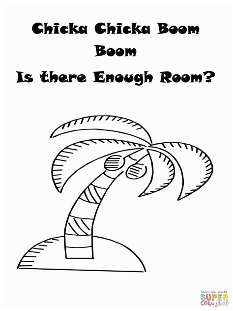 chicka chicka boom boom coloring pages free coloring pages chicka chicka coloring home