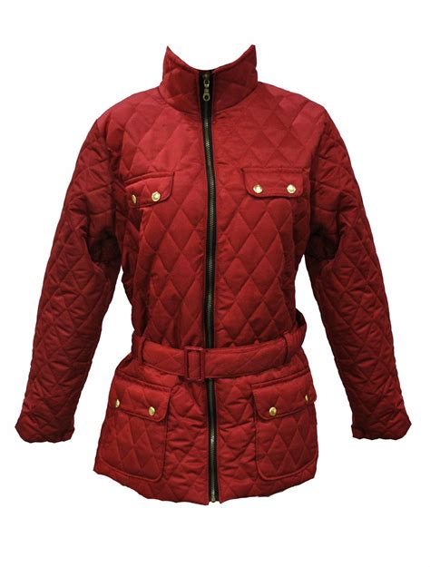 plus size quilted jacket