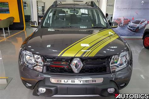 renault grey renault duster sandstorm edition video and images autobics