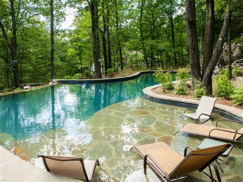 pool waterfall ideas architect s home with huge bi level pool waterfalls and