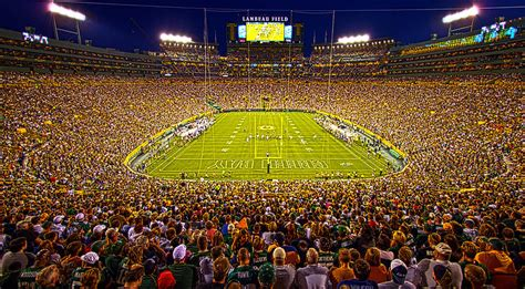 Green Bay Packers Home Decor by Lambeau Field Photograph By Phil Koch