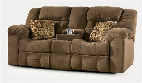loveseat with two recliners furniture gt living room furniture gt recliner gt brown