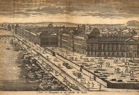 The Louvre Floor Plan by Paris Samuel Morse