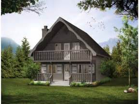 Chalet Cabin Plans by A Cozy Chalet Hwbdo06387 Cabin From Builderhouseplans Com