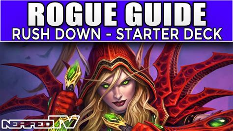 Rogue Starter Deck by Hearthstone Rogue Deck Guide
