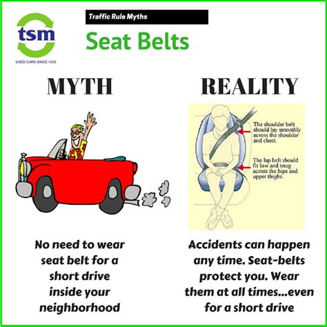 Note To Montana Seat Belts Are Necessary Not An Accessory seat belts are your safety wear it always