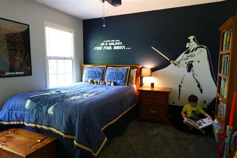 Star Wars Bedroom For A Little Boy Wars Room Decor