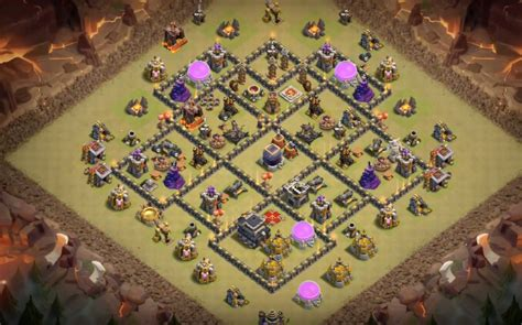 layout coc base war th9 6 epic th9 war base layouts farming base layouts with