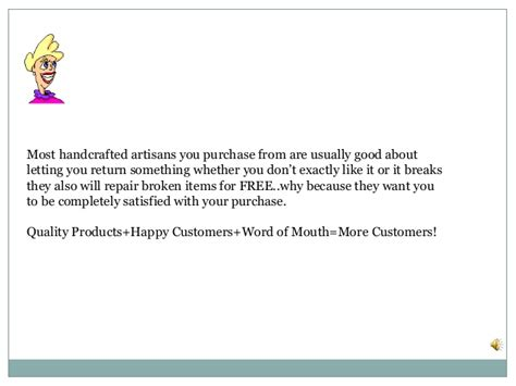Why Buy Handmade - why buy handmade products