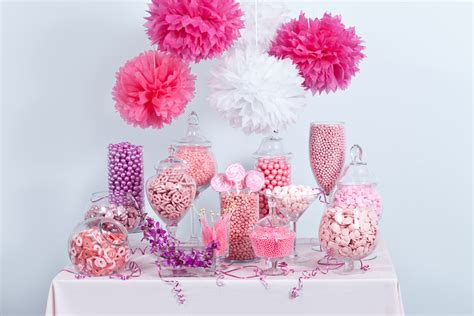 pink candy buffet candy buffets wedding candy nuts com
