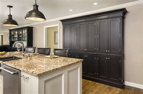 pictures of kitchens with black cabinets black kitchen cabinets cliqstudios