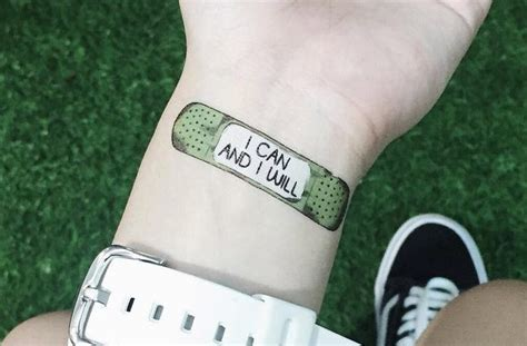 when can i get a tattoo these motivational temporary tattoos will help you get