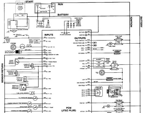 ignition wiring diagram 1992 dodge dakota v6 1992 dodge