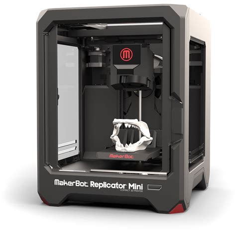 Printer 3d Mini makerbot replicator mini compact 3d printer mp05925 b h photo