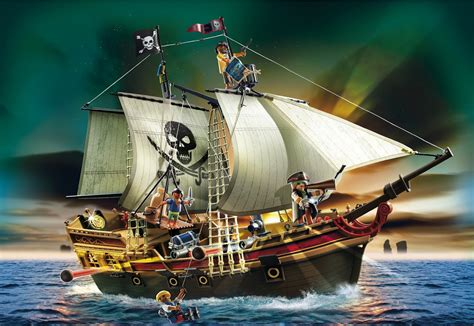 pirate boat playmobil 5135 pirates ship review daddacool