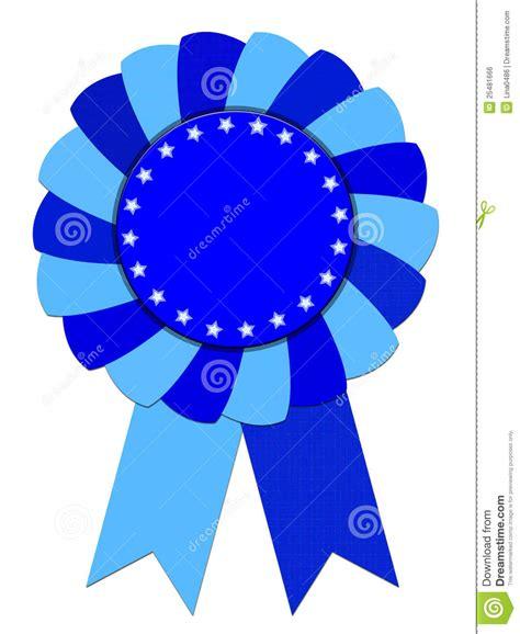 blue awards blue ribbon award royalty free stock image image 25481666