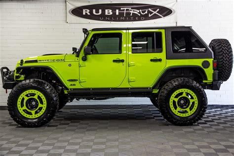 green jeep 2017 2017 jeep wrangler rubicon unlimited hyper green