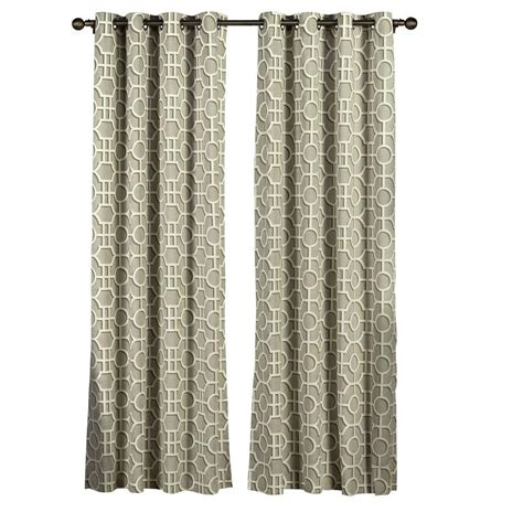 cotton grommet curtains creative home ideas semi opaque lenox 100 cotton extra