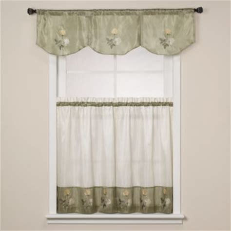 bed bath beyond kitchen curtains buy floral kitchen curtains from bed bath beyond